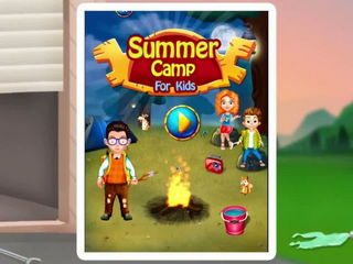 Summer Camp For Kids - iOS-Android Gameplay Trailer By Gameiva-1