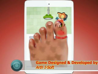 Nail Doctor - Kids Game iPad (Gameplay Video) by Arth I-Soft