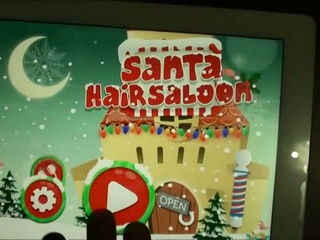 Santa Hair Salon - Kids Games Free (iPhone Gameplay Video) by Arth I-Soft