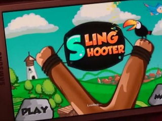 Sling Shooter iPhone - Android 3D Game by Arth I-Soft