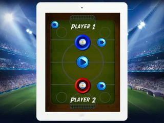 Soccer Air Hockey - Multiplayer Sport Game (Gameplay Video) by Arth I-Soft