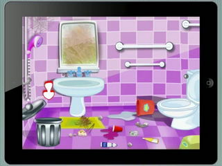 Toilet Makeover Kids Game iPad Gameplay Video by Arth I Soft
