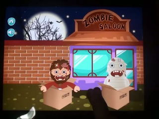 Zombie Saloon - Kids Games (iPhone Gameplay Video) by Arth I-Soft