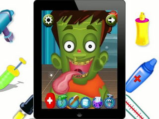 Zombie Tongue Doctor - Kids Game (Gameplay Video) by Arth I-Soft