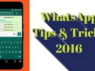 WhatsApp Typing Tricks and Tips 2016