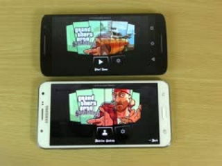 GTA San Andreas Samsung Galaxy J7 VS Moto X Play Gameplay Comparison!