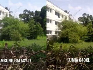 Samsung Galaxy J7 vs Lumia 640XL- Camera Comparison