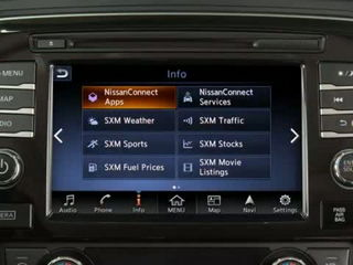 2016 Nissan Maxima - NissanConnectSM Mobile Apps (if so equipped)