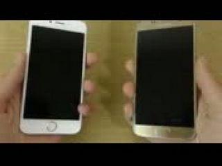 Apple iPhone 6S iOS 10 Beta 1 vs Samsung Galaxy S7 - Speed Test!