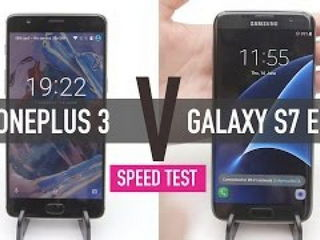 OnePlus 3 v Samsung Galaxy S7 Edge - SPEED TEST
