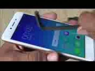 OPPO A37 Screen Scratch Test Gorilla Glass 4