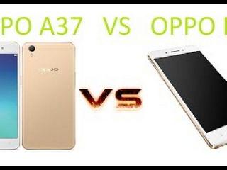 OPPO A37 Vs F1 Comparison