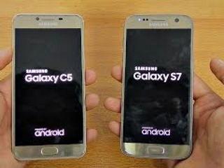 Samsung Galaxy C5 vs Galaxy S7 - Speed Test!