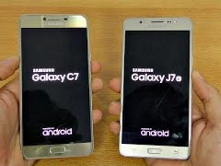 Samsung Galaxy C7 vs Galaxy J7 (2016) - Speed Test!
