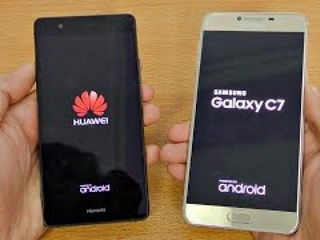 Samsung Galaxy C7 vs Huawei P9 Lite - Speed Test!