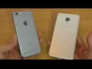 Samsung Galaxy C7 vs iPhone 6S - Speed Test!