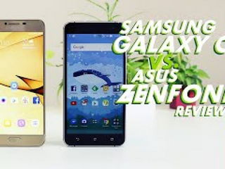 Samsung Galaxy C7 vs Asus Zenfone 3 Review Camera Comparison