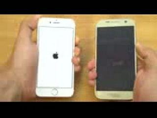 iPhone 7 vs Samsung Galaxy S7 - Speed Test!