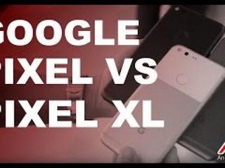 Comparison Google Pixel vs Google Pixel XL