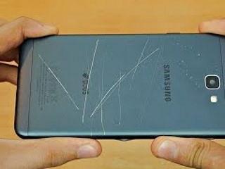 Samsung Galaxy J7 Prime Bend Test!