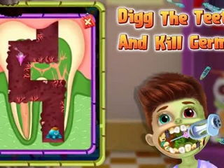 Halloween Kids Dental Clinic - Halloween Dental Clinic Games By Gameiva