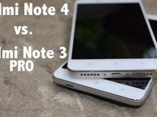 Xiaomi Redmi Note 4 vs. Xiaomi Redmi Note 3 PRO