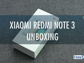 Xiaomi RedMi Note 3 Unboxing