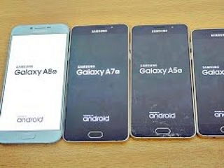Samsung Galaxy A8 vs A7 vs A5 vs A3 (2016) - Speed Test!