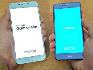 Samsung Galaxy A8 (2016) vs Huawei Honor 8 - Speed Test!