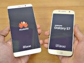 Huawei Mate 9 vs Samsung Galaxy S7 Android 7.0 Nougat - Speed Test!