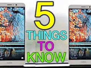 Huawei Mate 9 - 5 Things To Know Before Buying!