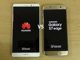 Huawei Mate 9 Vs Samsung Galaxy S7 Edge Comparison