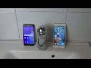 Samsung Galaxy A5 vs. iPhone 6S Plus - Water Test Will It Survive?