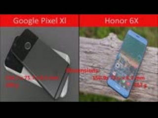 Huawei Honor 6X VS Google Pixel