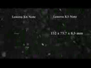 Lenovo K6 Note Vs Lenovo K5 Note Full Comparison