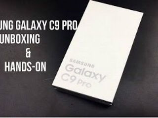 Samsung Galaxy C9 Pro Unboxing & Hands on