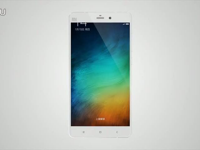 Xiaomi New Flagship Mi Note 小米 Note 外观视频