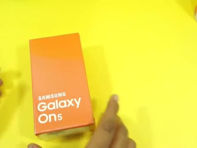 Samsung Galaxy On5 Unboxing & Hands-on - Not a Review