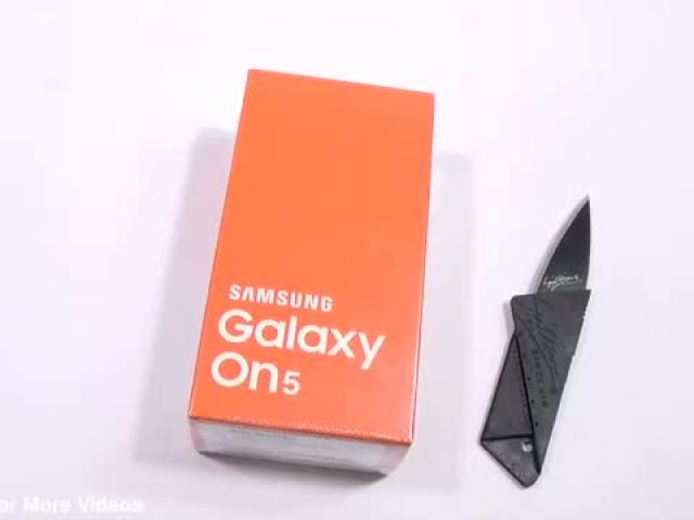 Samsung Galaxy On5 Unboxing & Hands on Review