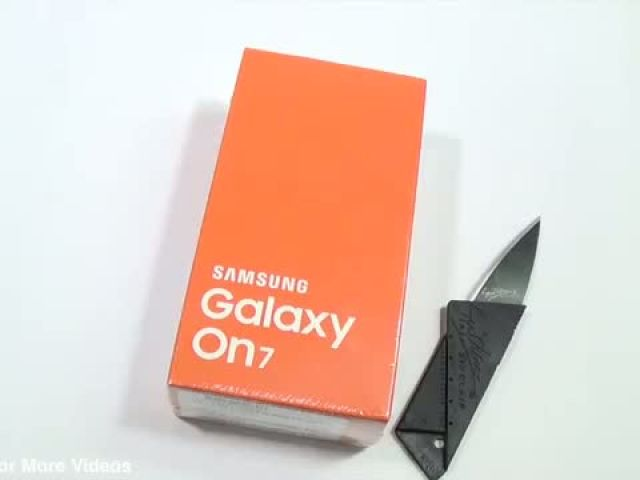 Samsung Galaxy On7 Unboxing & Hands on Review