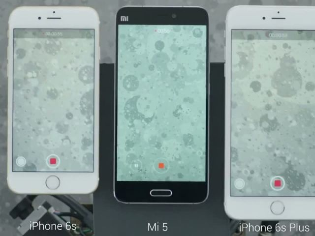 Xiaomi Mi 5 Camera Optical Image Stabilization vs Apple iPhone 6s