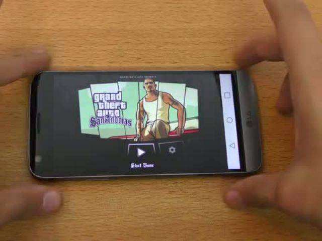 LG G5 GTA San Andreas Gaming Review