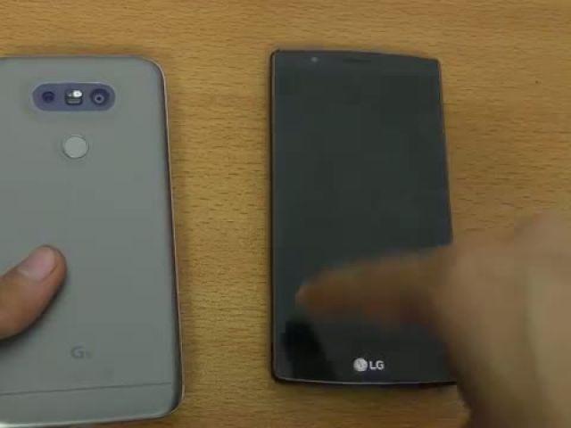 LG G5 vs G4 - Speed Test