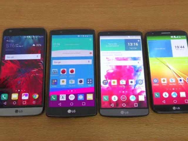 LG G5 vs G4 vs G3 vs G2 - Review