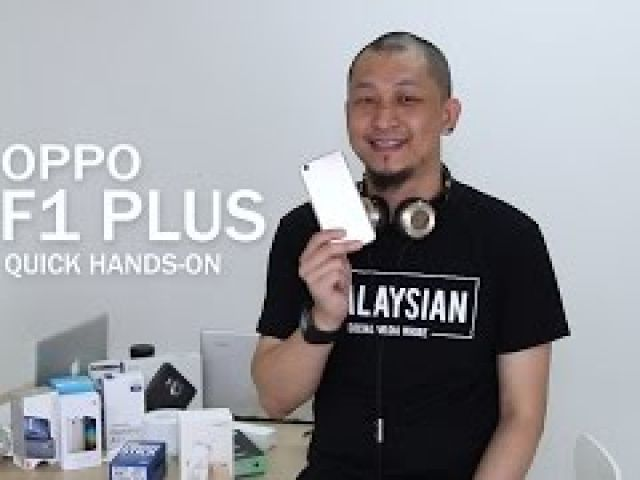 'Selfie Expert' OPPO F1 Plus quick hands-on review