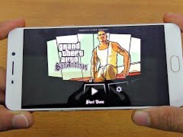 Oppo F1 Plus GTA San Andreas Gaming Review! (4K)