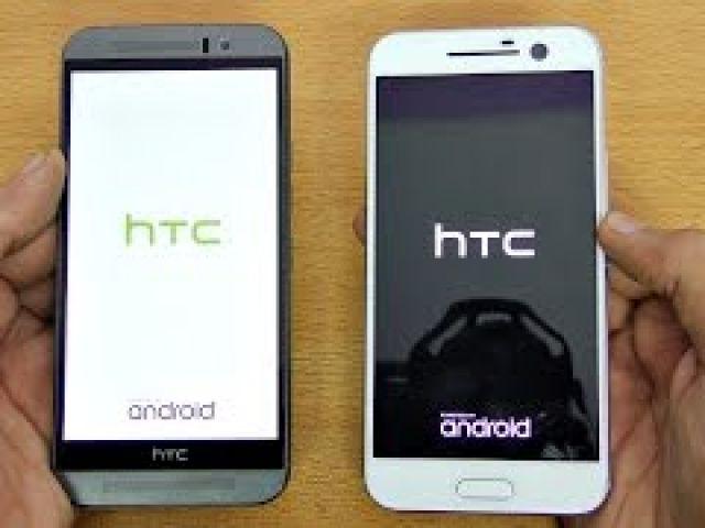 HTC 10 vs One M9 - Speed Test! (4K)