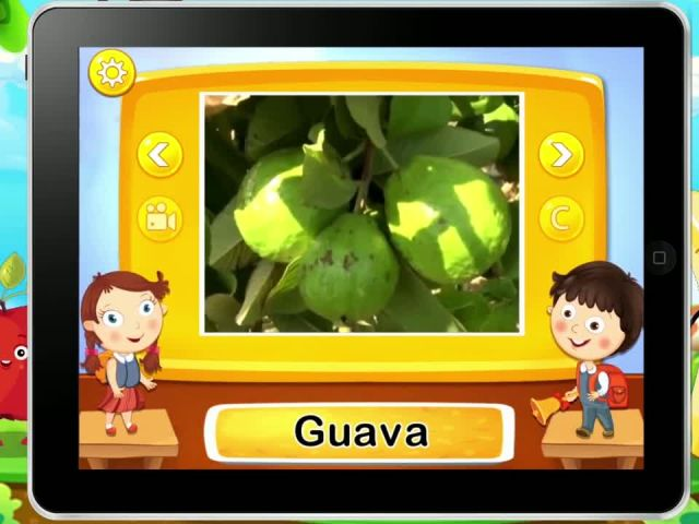Real Fruits For Kids - iOS-Android Gameplay Trailer By Gameiva-1