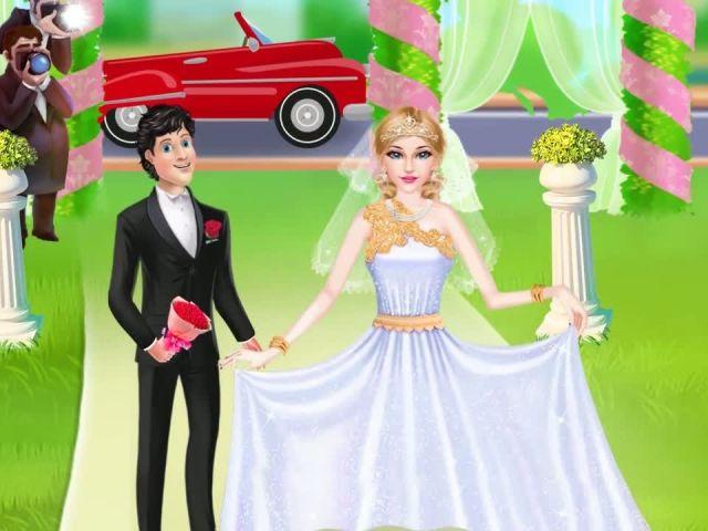 Princess Dream Wedding Salon - iOS-Android Gameplay Trailer By Gameiva