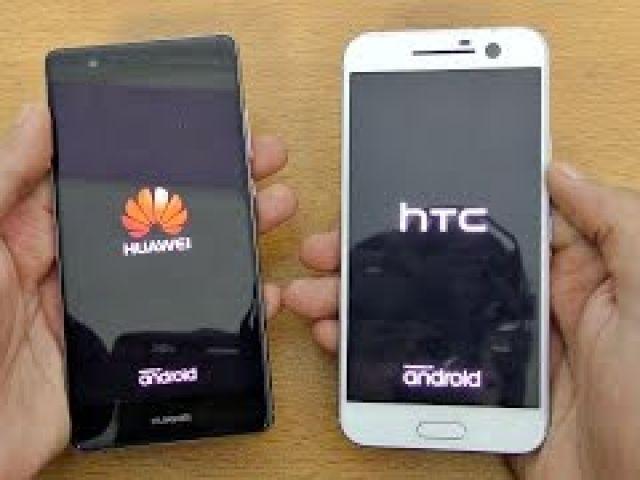 Huawei P9 vs HTC 10 - Speed Test!